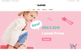 "WooCommerce шаблон ""Sukids -  Baby Shop & Kids Store"""