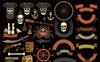 Pirate Grunge Logo Illustration Big Screenshot
