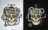 Steampunk Skull Illustration Big Screenshot