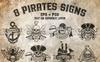 8 Pirates Signs Illustration Big Screenshot