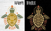 Happy Turtle Illustration Big Screenshot