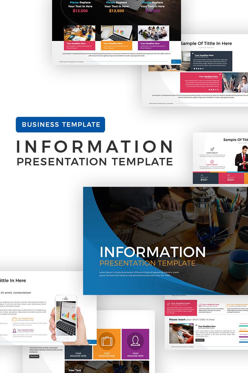 Information Business Presentation Powerpoint Template 68872