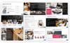 Information - Business Presentation PowerPoint Template Big Screenshot