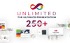 Unlimited Business Project Asset PowerPoint Template Big Screenshot