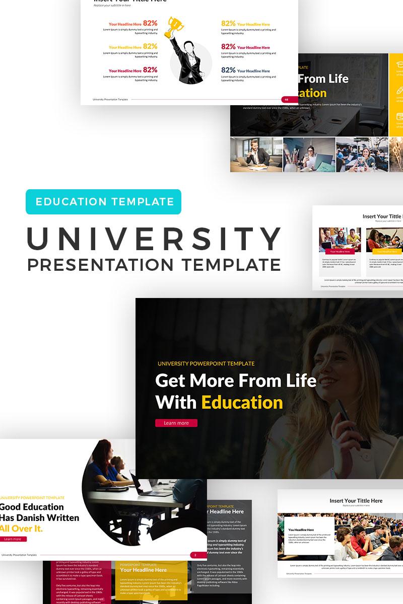 PowerPoint Vorlage #69609 für Universität
