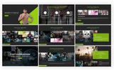 Sporty Fitness PowerPoint Template