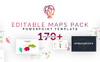 Editable Maps Pack PowerPoint Template Big Screenshot