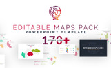Editable Maps Pack PowerPoint Template