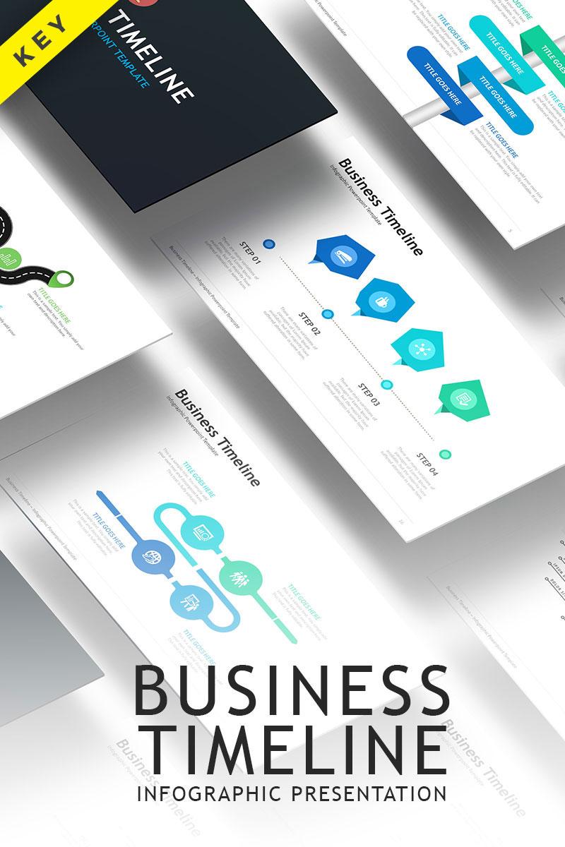 Business Timeline - Keynote Template #70351