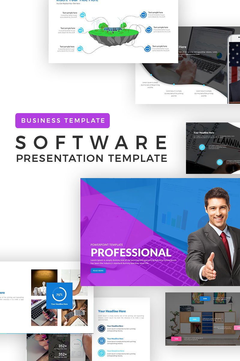 Professional Powerpoint Template 71063