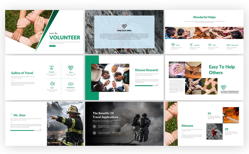 Volunteer presentation powerpoint template 71493 volunteer presentation powerpoint template big screenshot toneelgroepblik Choice Image