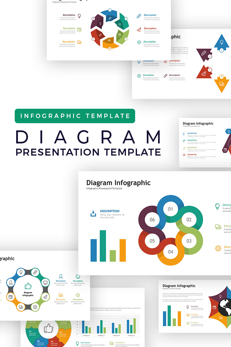 Diagram Infographic Powerpoint Template 73233