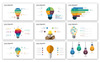 Lamp - Infographic Presentation PowerPoint Template Big Screenshot
