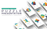Puzzle Presentation - Infographic PowerPointmall