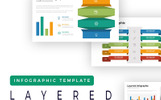 Layered Presentation - Infographic PowerPointmall