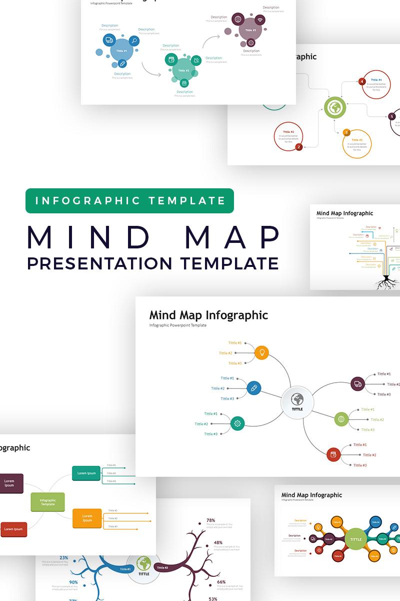 PowerPoint Vorlage Namens Mindmap Presentation