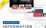 Information Presentation - Keynote Şablonu