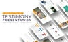 """Testimony Presentation - Infographic"" PowerPoint Template Groot  Screenshot"