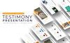 "PowerPoint šablona ""Testimony - Infographic"" Velký screenshot"