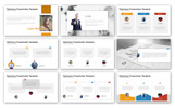 "PowerPoint šablona ""Testimony - Infographic"""