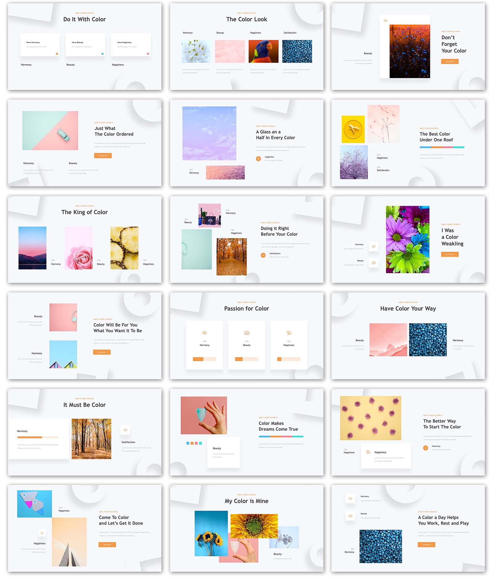 Creative Box Presentation PowerPoint Template