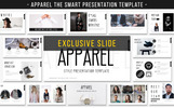 """""""APPAREL -"""" PowerPoint Template"""