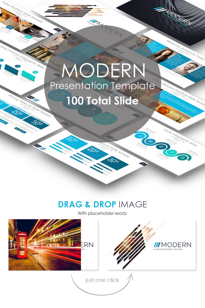 modern presentation powerpoint template 70926