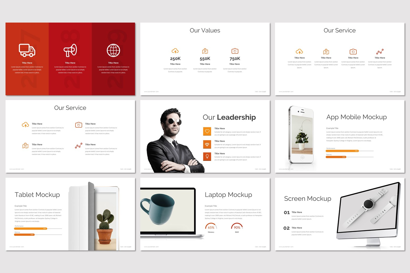 OUTBREAK Presentation PowerPoint Template
