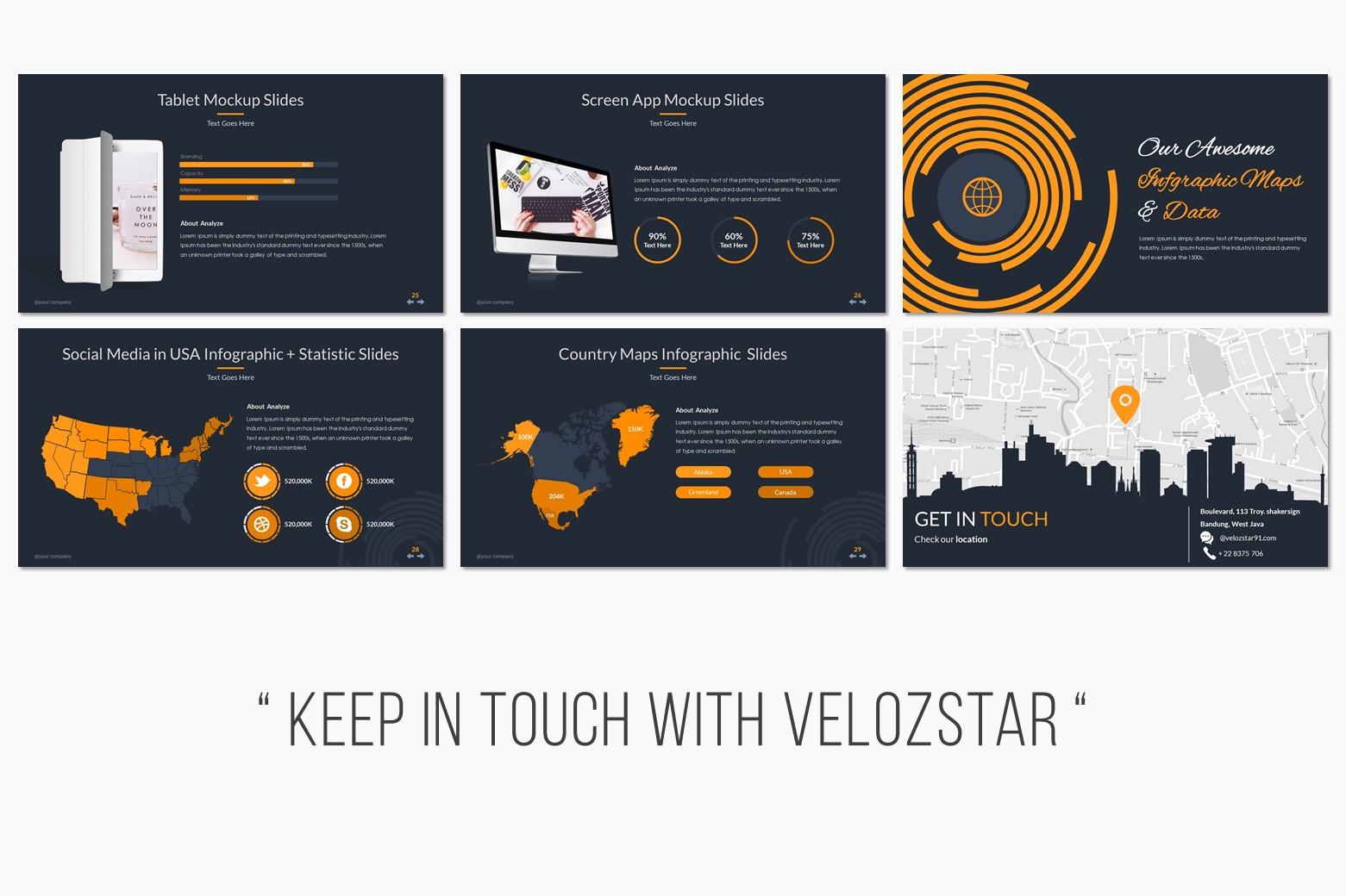 Pitch Deck Presentation PowerPoint Template