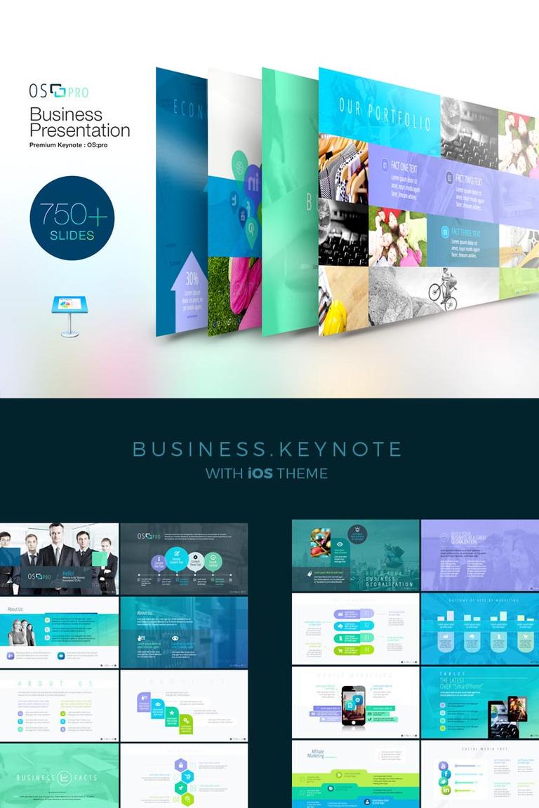 Plantilla Keynote #73705 para Sitio de Tecnología de la información