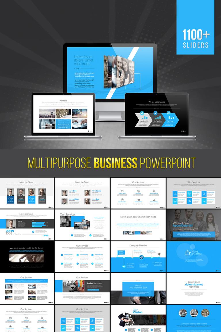 Bravo | Multipurpose Business PowerPoint Template #73702