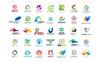 Plantilla de Logotipo para Sitio de Gráficos Captura de Pantalla Grande
