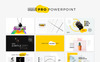 Rexus Pro Minimal & Creative PowerPoint Template Big Screenshot
