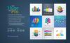 3D Business Set-03 Elementos Infograficos №75624 Screenshot Grade