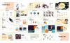 Abstract Pitchdeck PowerPointmall En stor skärmdump
