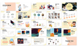 Szablon PowerPoint Abstract Pitchdeck #81838