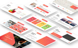 """MultiSlides - Multipurpose Gradient Presentation"" PowerPoint Template"