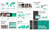 """""""Annual Report"""" modèle PowerPoint  Grande capture d'écran"""