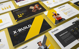 X-Build - Bold Template PowerPoint №82105