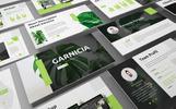 Garnicia - Fresh PowerPoint sablon