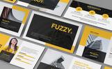 Fuzzy - Creative Template PowerPoint №82252