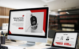 Redbiz - Biz Template PowerPoint №82357