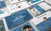 """PowerPoint шаблон """"Dior - Agency"""" Большой скриншот"""