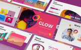 Glow - Gradient PowerPoint Template