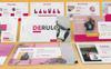 Derulo - Fashion PowerPoint Template Big Screenshot
