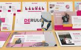 Derulo - Fashion PowerPoint Template