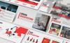 Urban - Architecture PowerPoint Template Big Screenshot