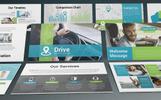 Drive - Transportation PowerPoint sablon