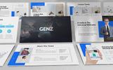 """PowerPoint Vorlage namens """"Genz - Modern"""""""