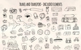 58 Holiday, Travel and Transport Illustration